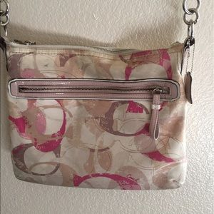 Cross body coach bag